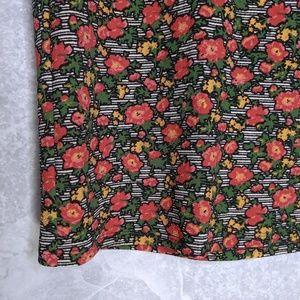 Lularoe Cassie Floral Skirt